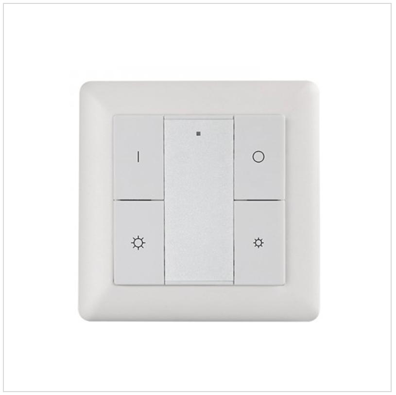 Heatit Z-Push Button 4 WHITE_SR