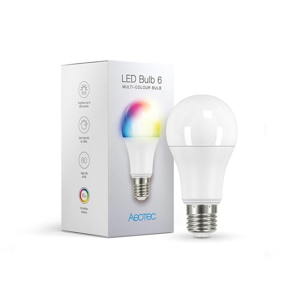 Aeotec LED Bulb 6 : Multi-Colour