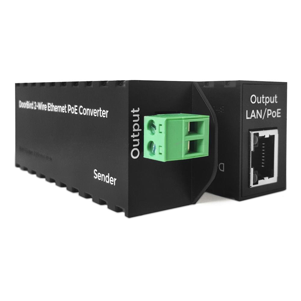 Doorbird 2-Wire Ethernet PoE Converter