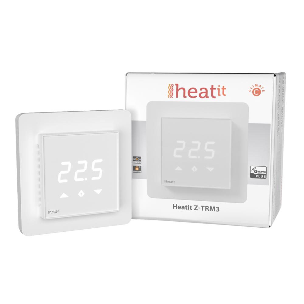 Heatit Z-TRM3 3600W 16A thermostat