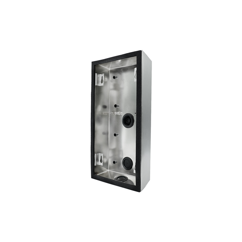 Doorbird D2101V surface-mounting housing (backbox), stainless steel V4A, brushed