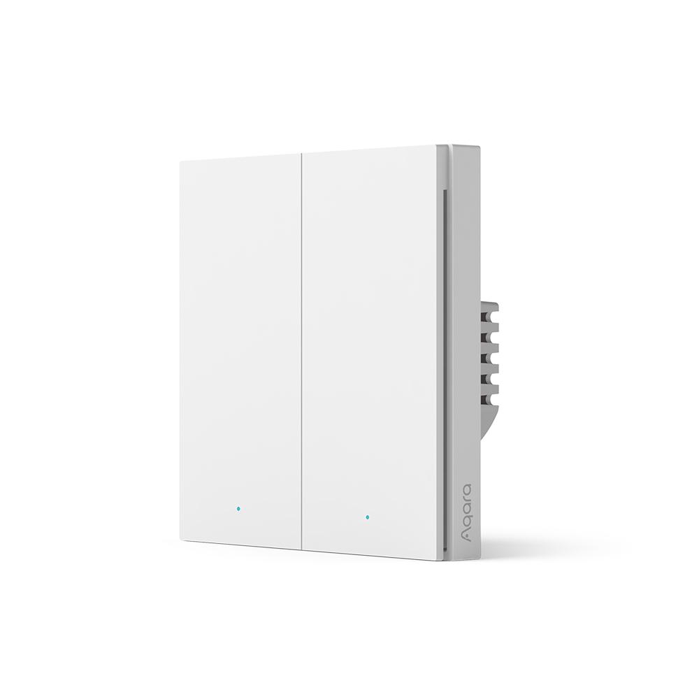 AQARA Smart Wall Switch H1  (no neutral, double rocker)