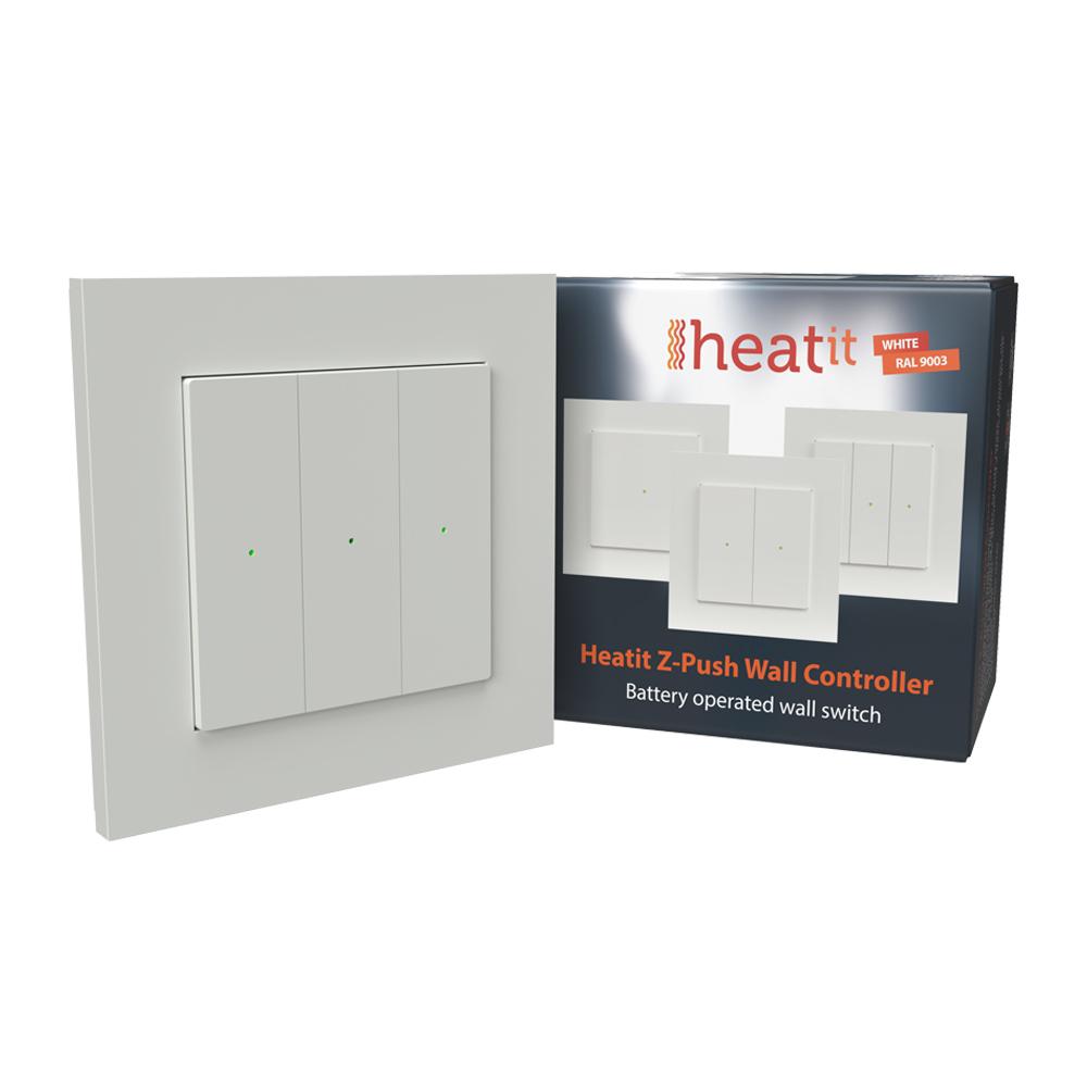Heatit Z-Push Wall Controller (wit)
