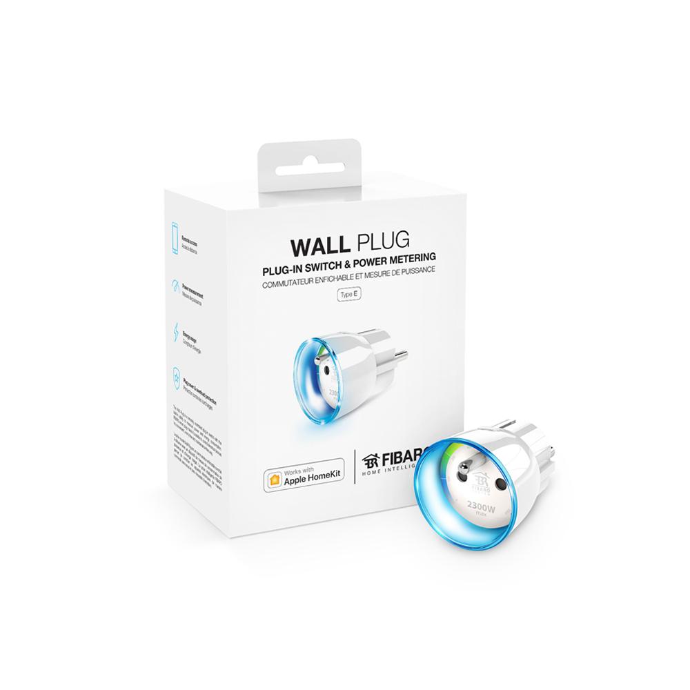 FIBARO Wall Plug Type E works with Apple HomeKit
