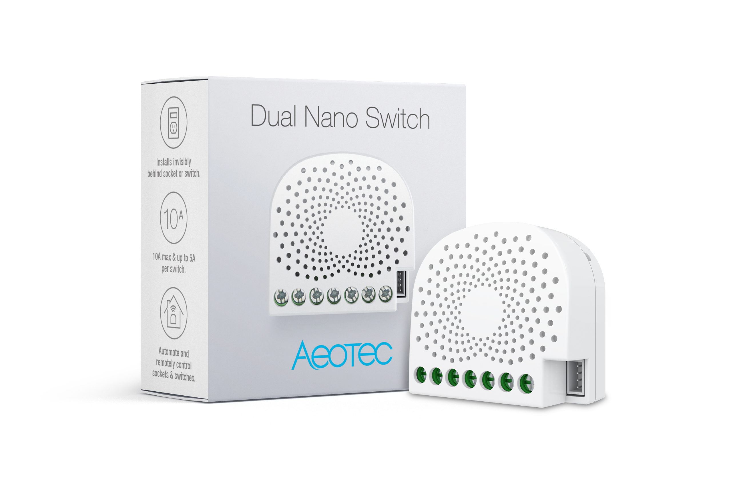 Aeotec Dual Nano Switch with power metering