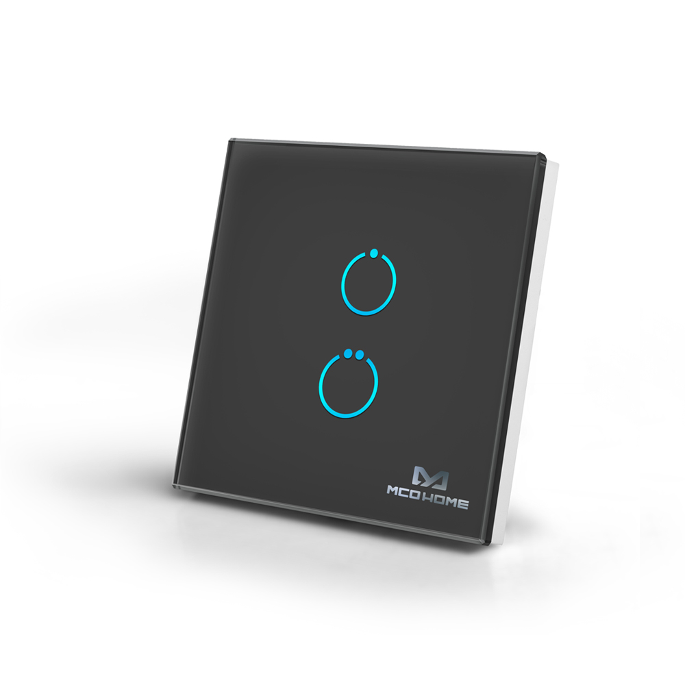 MCOHome Touch Panel Switch 2 Button