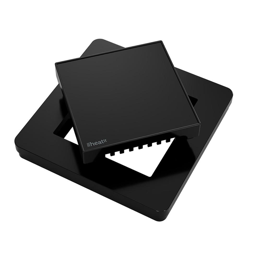 Heatit Plastkit black for Heatit Z-TRM2 / Z-TRM3 Thermostat - black (RAL 9011)