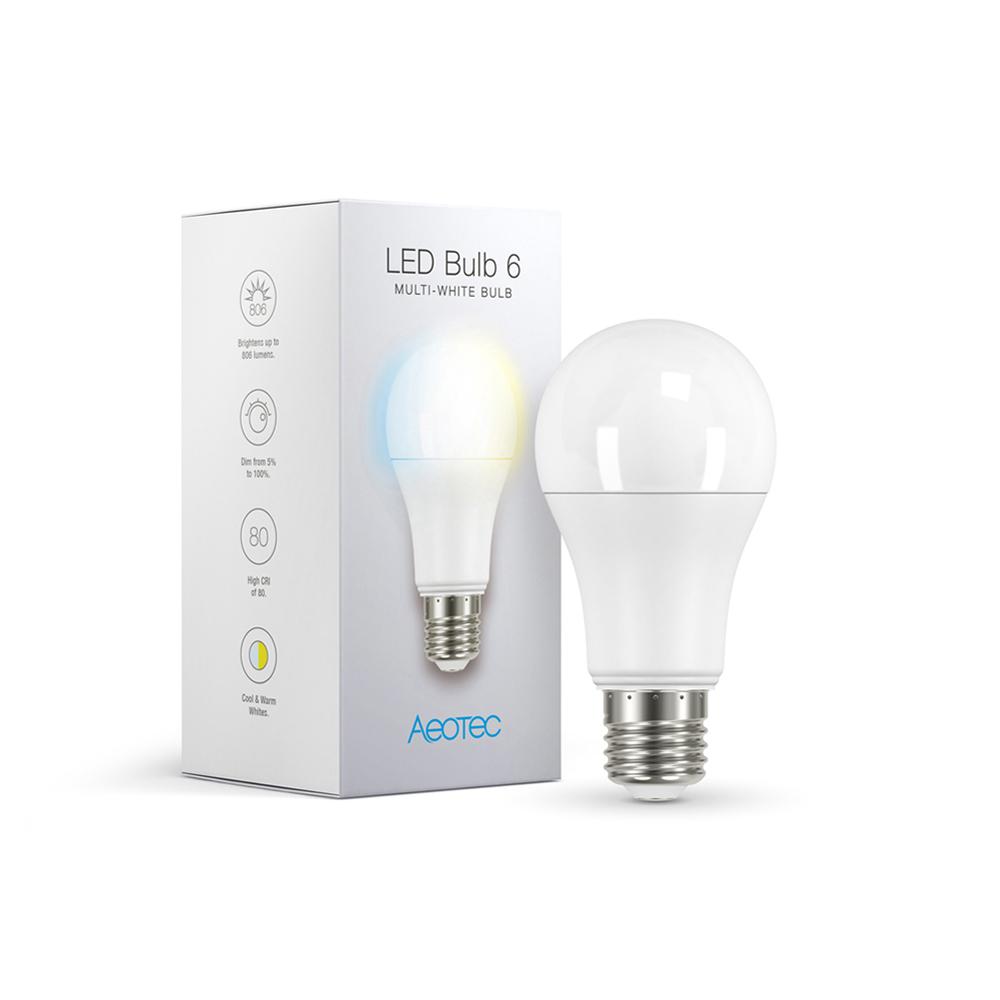 Aeotec LED Bulb 6 : Multi-White