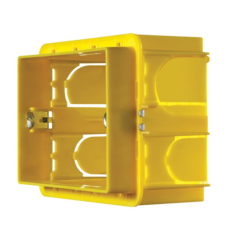 Vitrum Flush Mounting Backbox 3M for Plast (5-pack)