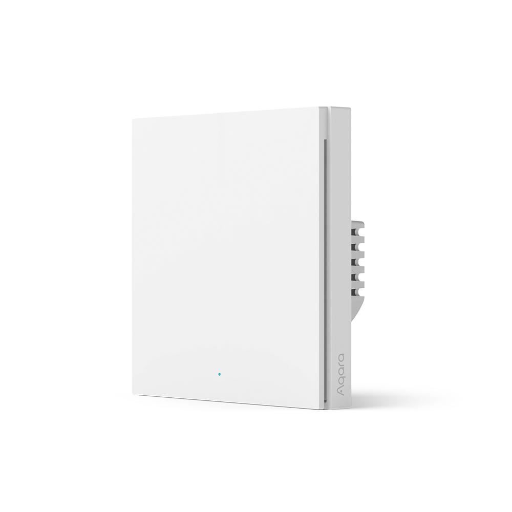AQARA Smart Wall Switch H1  (no neutral, single rocker)